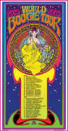 Canned Heat Boogie Tour poster
