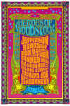 Heroes of Woodstock tour poster